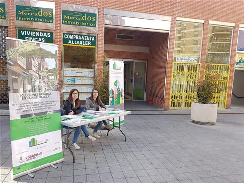 Valladolid and its citizens are actively involved in Urban GreenUP
