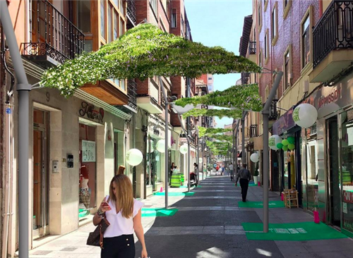 Municipal plan to install green awnings this year with 1.5 million investment