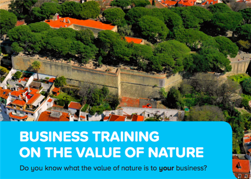 We Value Nature's first natural capital training event