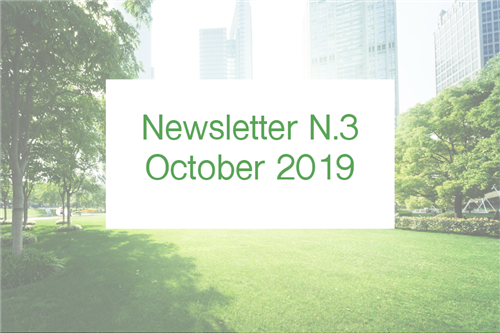 Newsletter N.3 - October 2019
