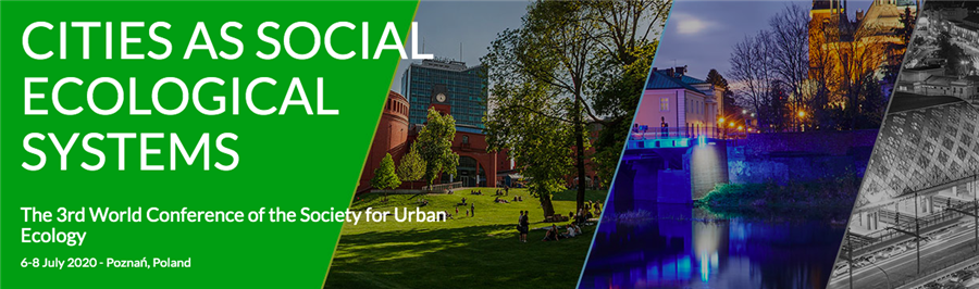 3rd World Conference of the Society for Urban Ecology 2020: NBS for cities Symposium