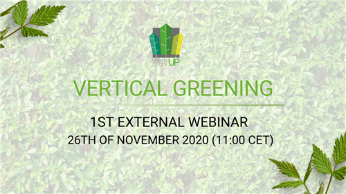 URBAN GreenUP Webinar: Vertical Greening